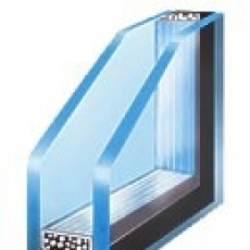 Double pane glass units
